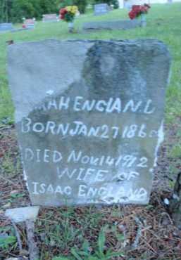ENGLAND, SARAH - Fulton County, Arkansas | SARAH ENGLAND - Arkansas Gravestone Photos