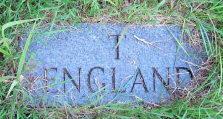 ENGLAND, T - Fulton County, Arkansas | T ENGLAND - Arkansas Gravestone Photos