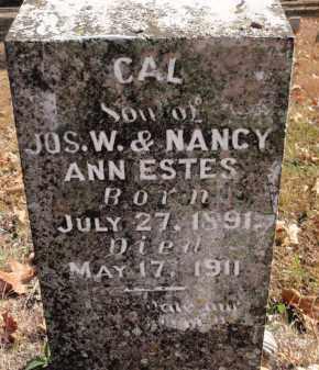 ESTES, CAL - Fulton County, Arkansas | CAL ESTES - Arkansas Gravestone Photos