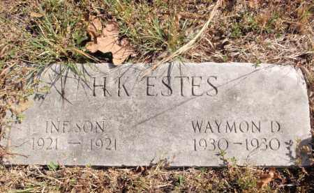 ESTES, WAYMON D. - Fulton County, Arkansas | WAYMON D. ESTES - Arkansas Gravestone Photos