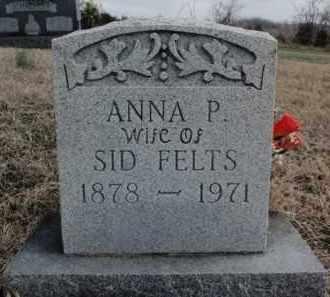 FELTS, ANNA P. - Fulton County, Arkansas   ANNA P. FELTS - Arkansas Gravestone Photos