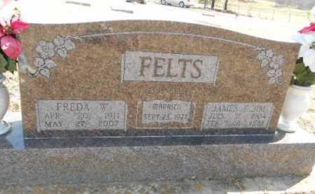 ROSIER FELTS, FREDA WILMA - Fulton County, Arkansas | FREDA WILMA ROSIER FELTS - Arkansas Gravestone Photos