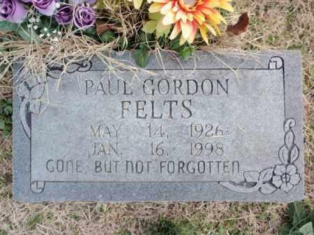 FELTS, PAUL GORDON - Fulton County, Arkansas | PAUL GORDON FELTS - Arkansas Gravestone Photos