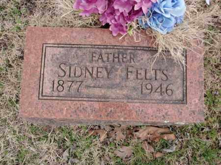 FELTS, SIDNEY - Fulton County, Arkansas   SIDNEY FELTS - Arkansas Gravestone Photos