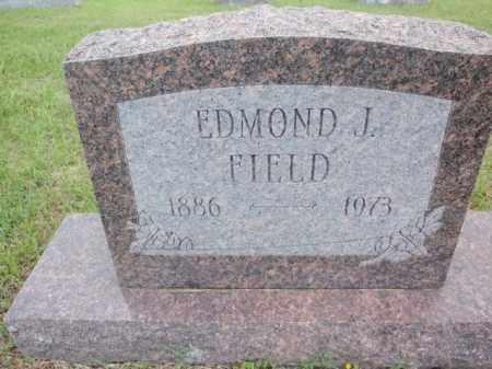 FIELD, EDMOND J - Fulton County, Arkansas | EDMOND J FIELD - Arkansas Gravestone Photos
