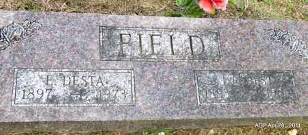 FIELD, E DESTA - Fulton County, Arkansas | E DESTA FIELD - Arkansas Gravestone Photos