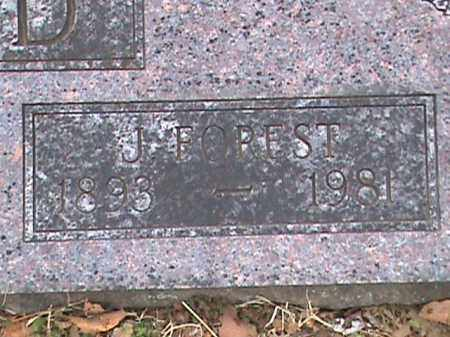 FIELD, J FORREST (CLOSE UP) - Fulton County, Arkansas | J FORREST (CLOSE UP) FIELD - Arkansas Gravestone Photos