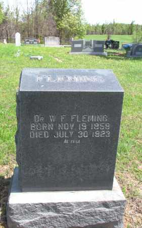 FLEMING, W F - Fulton County, Arkansas | W F FLEMING - Arkansas Gravestone Photos