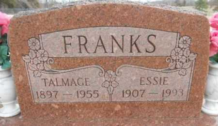 FRANKS, ESSIE MAY - Fulton County, Arkansas | ESSIE MAY FRANKS - Arkansas Gravestone Photos