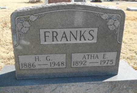 FRANKS, HOMER GARLAND - Fulton County, Arkansas   HOMER GARLAND FRANKS - Arkansas Gravestone Photos