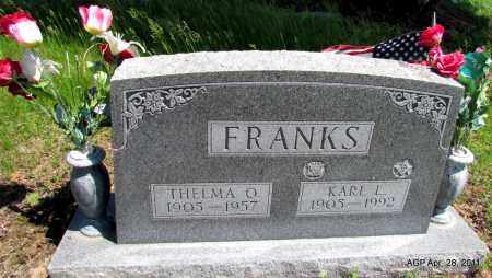 FRANKS, THELMA O - Fulton County, Arkansas | THELMA O FRANKS - Arkansas Gravestone Photos