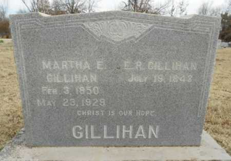 GILLIHAN, MARTHA E. - Fulton County, Arkansas | MARTHA E. GILLIHAN - Arkansas Gravestone Photos
