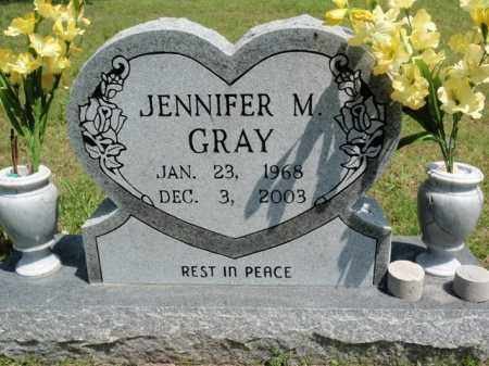 GRAY, JENNIFER M - Fulton County, Arkansas | JENNIFER M GRAY - Arkansas Gravestone Photos