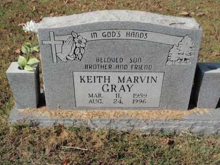 GRAY, KEITH MARVIN - Fulton County, Arkansas | KEITH MARVIN GRAY - Arkansas Gravestone Photos