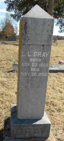 GRAY, LELAND L. - Fulton County, Arkansas | LELAND L. GRAY - Arkansas Gravestone Photos