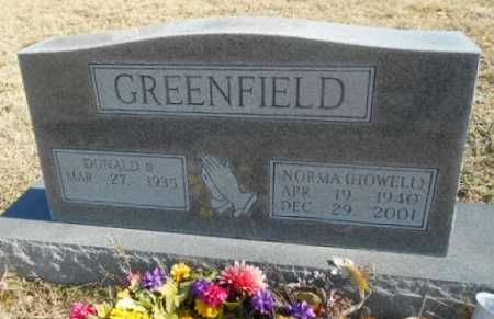 GREENFIELD, NORMA LEE - Fulton County, Arkansas | NORMA LEE GREENFIELD - Arkansas Gravestone Photos
