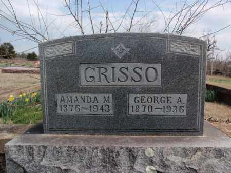 GRISSO, AMANDA M. - Fulton County, Arkansas | AMANDA M. GRISSO - Arkansas Gravestone Photos