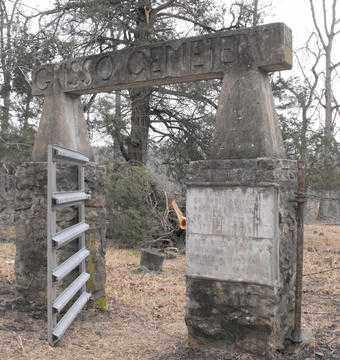 *GRISSO CEMETERY ENTRANCE,  - Fulton County, Arkansas |  *GRISSO CEMETERY ENTRANCE - Arkansas Gravestone Photos