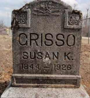 GRISSO, SUSAN K. - Fulton County, Arkansas   SUSAN K. GRISSO - Arkansas Gravestone Photos