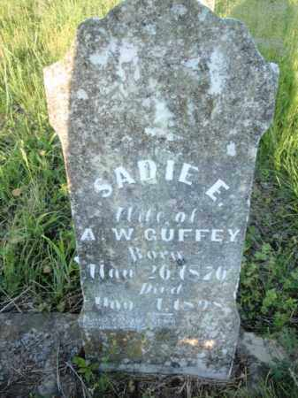 GUFFEY, SADIE E - Fulton County, Arkansas | SADIE E GUFFEY - Arkansas Gravestone Photos