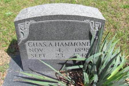 HAMMOND, CHARLES A - Fulton County, Arkansas | CHARLES A HAMMOND - Arkansas Gravestone Photos
