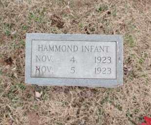 HAMMOND, INFANT - Fulton County, Arkansas | INFANT HAMMOND - Arkansas Gravestone Photos