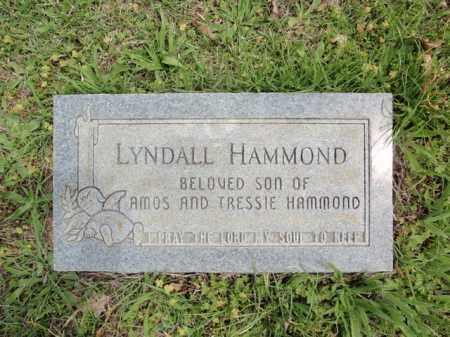 HAMMOND, LYNDALL - Fulton County, Arkansas   LYNDALL HAMMOND - Arkansas Gravestone Photos