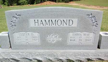 HAMMOND, EMMA MAE - Fulton County, Arkansas | EMMA MAE HAMMOND - Arkansas Gravestone Photos