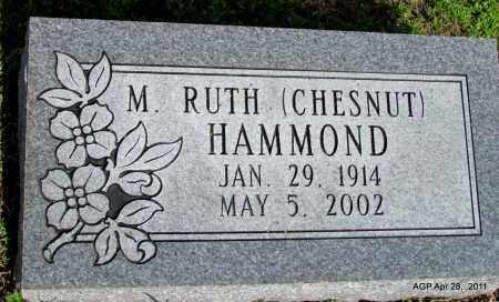 HAMMOND, M RUTH - Fulton County, Arkansas   M RUTH HAMMOND - Arkansas Gravestone Photos