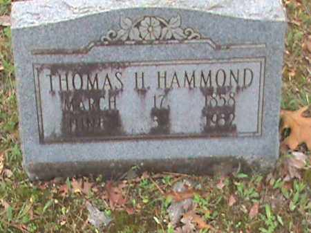 HAMMOND, THOMAS H. - Fulton County, Arkansas | THOMAS H. HAMMOND - Arkansas Gravestone Photos