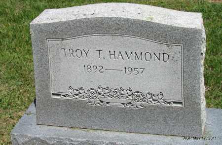 HAMMOND, TROY T - Fulton County, Arkansas   TROY T HAMMOND - Arkansas Gravestone Photos