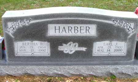 HARBER, EARL J - Fulton County, Arkansas | EARL J HARBER - Arkansas Gravestone Photos