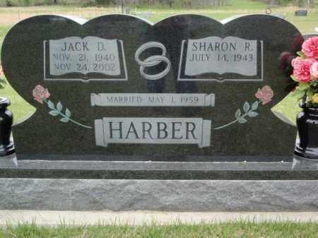 HARBER, JACK D - Fulton County, Arkansas | JACK D HARBER - Arkansas Gravestone Photos