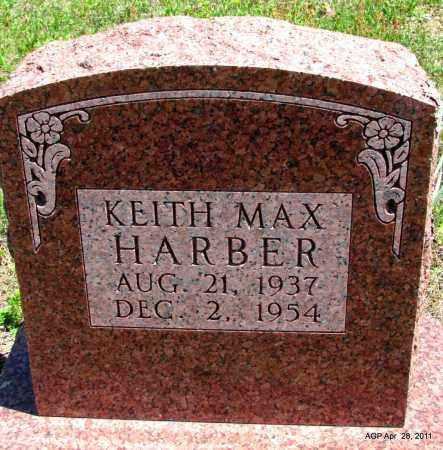 HARBER, KEITH MAX - Fulton County, Arkansas   KEITH MAX HARBER - Arkansas Gravestone Photos