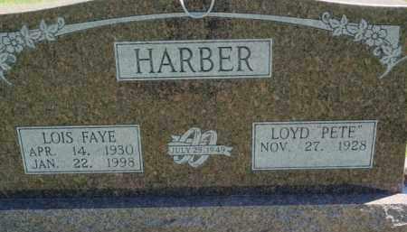 HARBER, LOIS FAYE - Fulton County, Arkansas   LOIS FAYE HARBER - Arkansas Gravestone Photos