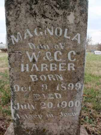 HARBER, MAGNOLA - Fulton County, Arkansas | MAGNOLA HARBER - Arkansas Gravestone Photos