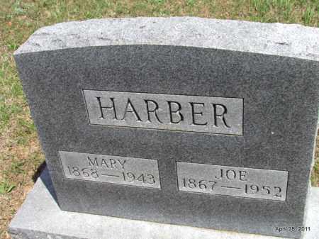 HARBER, MARY - Fulton County, Arkansas | MARY HARBER - Arkansas Gravestone Photos