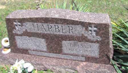 HARBER, MYRTLE A - Fulton County, Arkansas | MYRTLE A HARBER - Arkansas Gravestone Photos