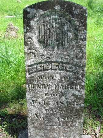 HARBER, REBECCA - Fulton County, Arkansas | REBECCA HARBER - Arkansas Gravestone Photos