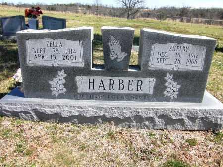 HARBER, ZELLA - Fulton County, Arkansas | ZELLA HARBER - Arkansas Gravestone Photos