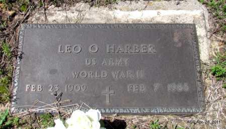 HARBER (VETERAN WWII), LEO O - Fulton County, Arkansas | LEO O HARBER (VETERAN WWII) - Arkansas Gravestone Photos