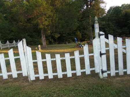 *HERSPERGER CEMETERY, GATE - Fulton County, Arkansas | GATE *HERSPERGER CEMETERY - Arkansas Gravestone Photos