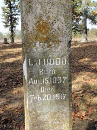 HOOD, LOUIZA J. - Fulton County, Arkansas | LOUIZA J. HOOD - Arkansas Gravestone Photos