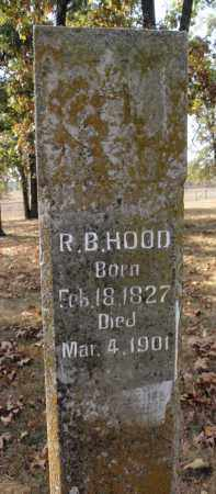 HOOD, RICHARD B. - Fulton County, Arkansas | RICHARD B. HOOD - Arkansas Gravestone Photos