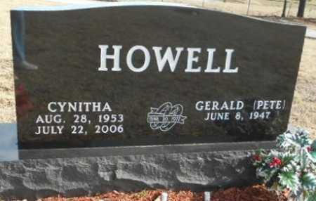 HOWELL, CYNITHA  O - Fulton County, Arkansas | CYNITHA  O HOWELL - Arkansas Gravestone Photos