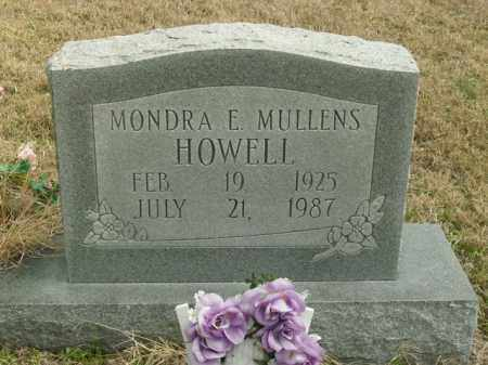 HOWELL, MONDRA E. - Fulton County, Arkansas | MONDRA E. HOWELL - Arkansas Gravestone Photos