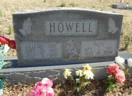 """HOWELL, OGLESBY RUFUS """"ODE"""" - Fulton County, Arkansas 