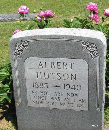 HUTSON, ALBERT - Fulton County, Arkansas | ALBERT HUTSON - Arkansas Gravestone Photos