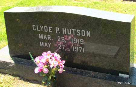 HUTSON, CLYDE P - Fulton County, Arkansas | CLYDE P HUTSON - Arkansas Gravestone Photos
