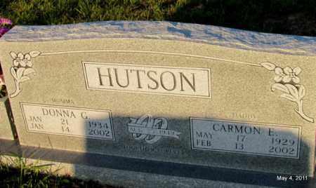 HUTSON, CARMON EUGENE - Fulton County, Arkansas   CARMON EUGENE HUTSON - Arkansas Gravestone Photos